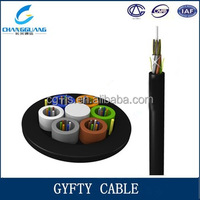 Cable manufacturer supply Crush resistance and flexibilty Duct & Aerial outdoor GYFTY fiber optic clothing
