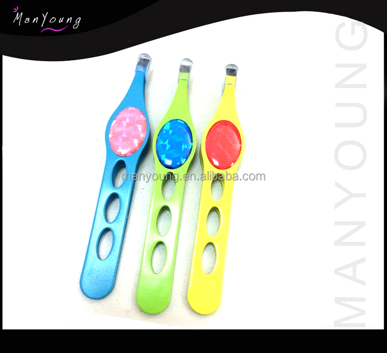 hot lady special shape eyebrow tweezer