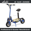 2017 60V 1600W 2 wheel light weight foldable electric scooter for adults with CE and RoHS certification