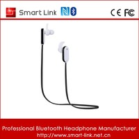 Bluetooth 4.0 Double Ear Pieces with Clear Voice and Noise Cancellation Portable Wireless Stereo Outdoor Sports/Running &Gym
