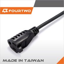 usa and canada standard power cord plug with UL approval