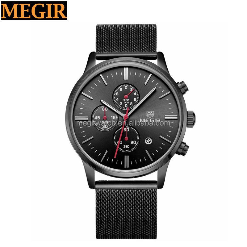 2016 Hot selling quartz Megir brand watch