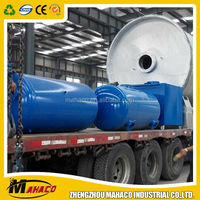Best seller scrap tyre recycling pyrolysis plant without air pollution