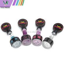 TV products Lovely glitter hair DIY hot stamp,hair accessories glitter stamp,glitter hair color