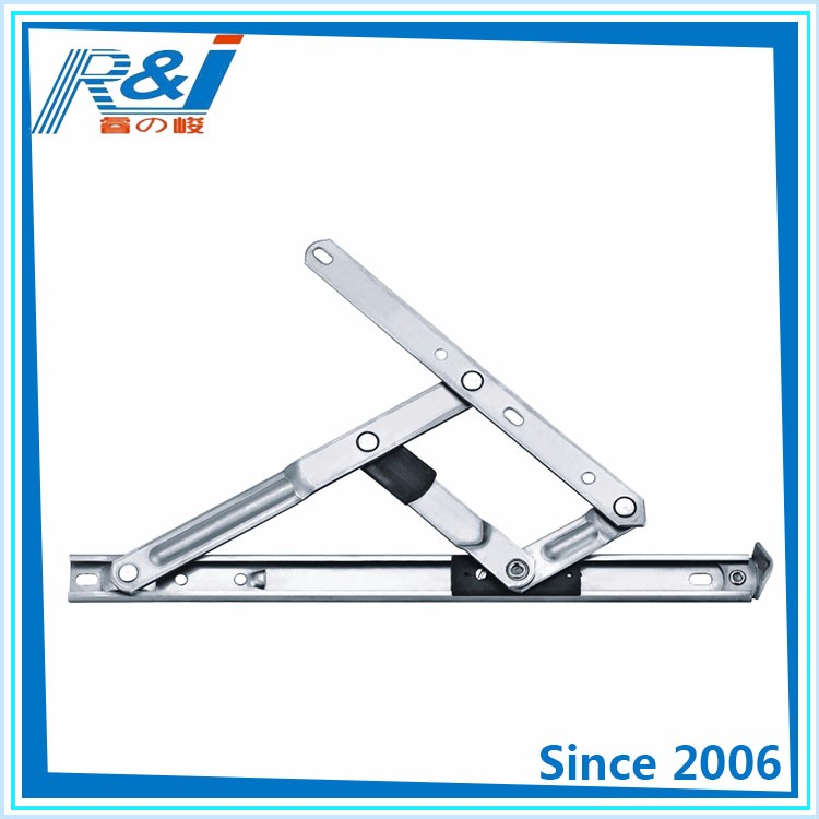 8 years export experience of single bearing point casement friction hinges for doors and windows