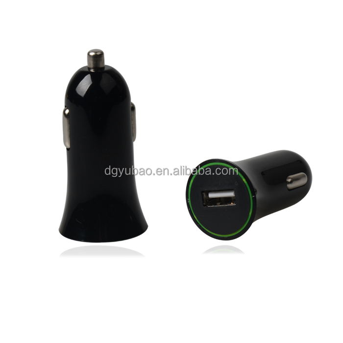 1A Car Charger One Port LED Indicate battery Car Charger