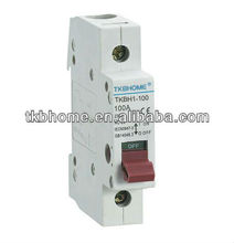 CE Certified 100a single pole isolator switch