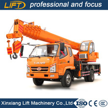 New hydraulic 5 6 8 10 12 ton small truck crane for sale