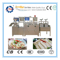 Full automatic soy bean curd making machine/soy bean milk and Tofu making machine