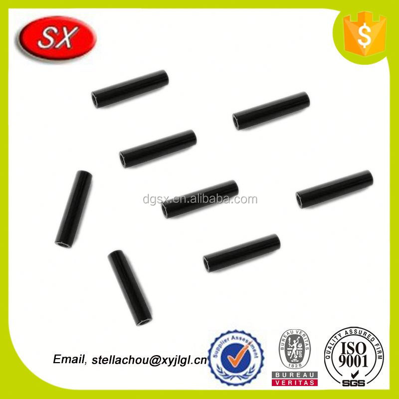 Internally Threaded Aluminum Link Black tube