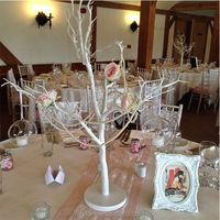 WEFOUND white manzanita wishing tree crystal tree table decorations