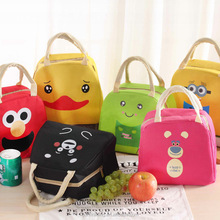 Back to school cooler bags kid insulated cartoon lunch bag