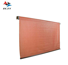 Top quality PE material UV block roman style roller blind