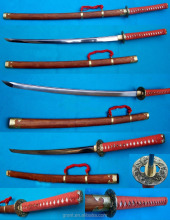 The Japanese samurai swords for promotioal gifts