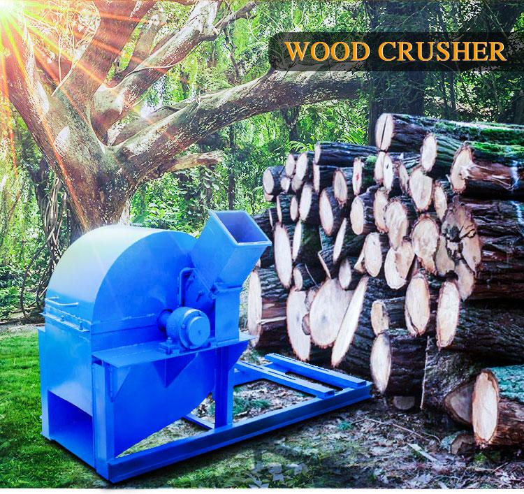 Wood working Machinery Hammer Mill For Wood Chip Sawdust Machine