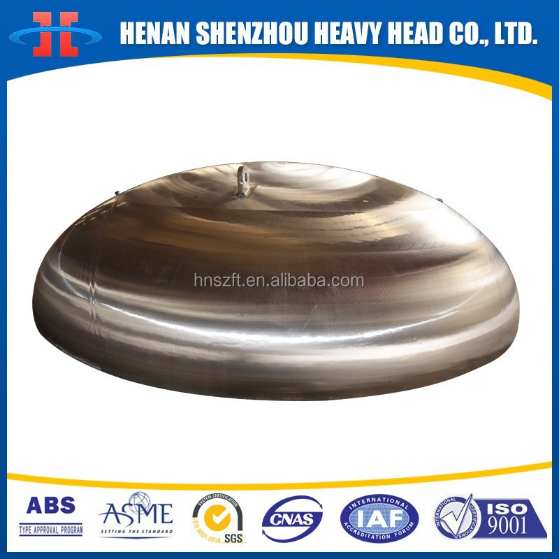 Stainless Steel Elliptical head for PDH project
