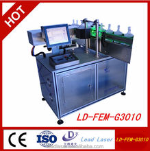 Cheap high tech laser engraving and coding machine for dairy production