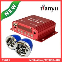 electrical electrical motorcycle alarm mp3 player system economic applicability
