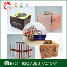 Cheap Custom retail food grade cake boxes and board