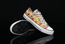 new model custom design printed canvas shoes