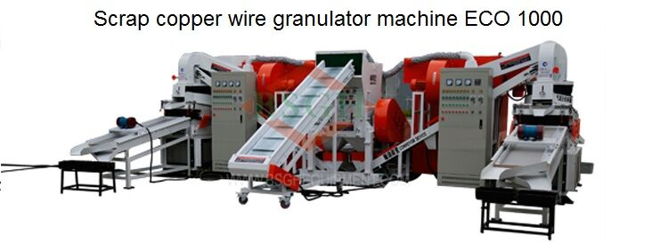 BSGH High Feedback Electronic Cable Shredder Recycling Equipment Scrap Copper Wire Granulating Machine