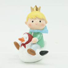 ROOGO Kindergarten supplies european goose the little prince resin home decoration