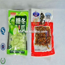 food packing printing snack bags