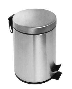 40L Stainless Steel Hands Free Pedal Trash bin