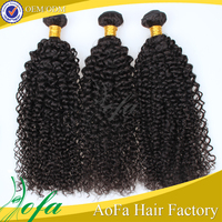 natural color can bd dyed double sewn shedding free mongolian kinky curly hair weave 4a