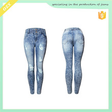 High quality sexy women tight jeans women jeans trousers