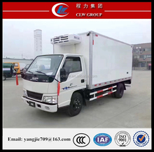Factory direct sale JMC thermo king refrigerator freezer truck