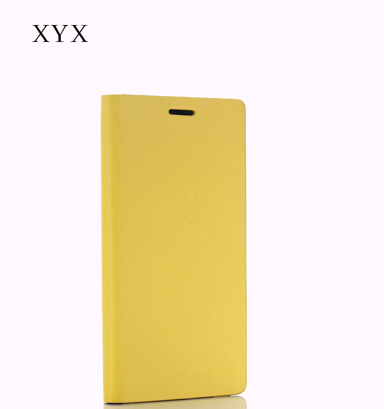 for iphone 5se leather case, metal drew grain leather material from XYX A unique design