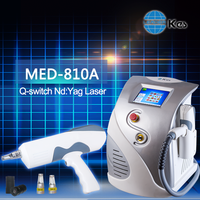 q-switch tattoo removal nd yag laser soft laser equipment