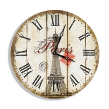 Wholesale home decor wooden wall clock