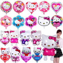 Hello Kitty cartoon foil helium balloon for kids toys