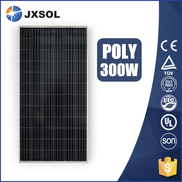 TUV approved cheap price 300w poly solar panel of Chinese manufacturer supplier