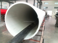 "34"" SDR 17 UHMWPE plastic dredge pipe"