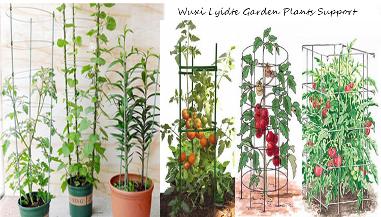 Coated Plastic Stake Steel garden