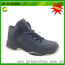design new style brand black basketball shoes
