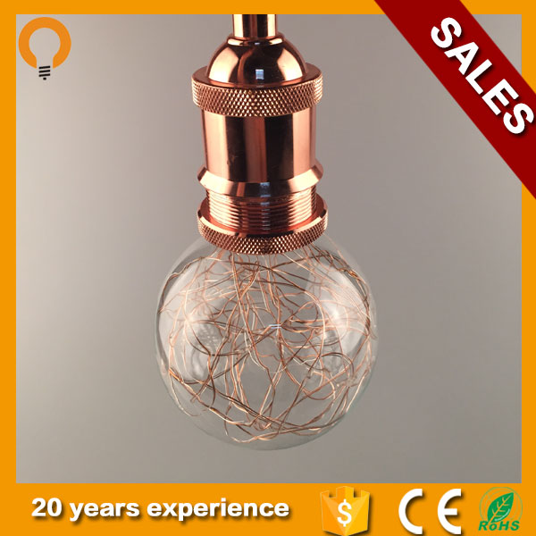 LED Star lighting led copper wire string lights for Christmas decoration