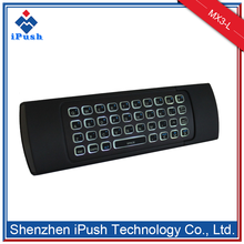 factory hot sales smart tv wireless keyboard and mouse MX3