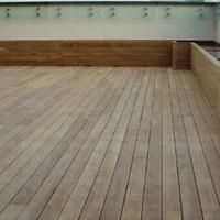 Real Teak Wood Water Proof Outdoor Flooring