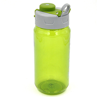 Environment protecting plastic bike water bottle