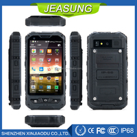 OEM Outdoor rugged mobile phones 3G 4 inch IP68 Waterproof cellphone MTK6582 Quad core Android 4.4 smartphone GPS