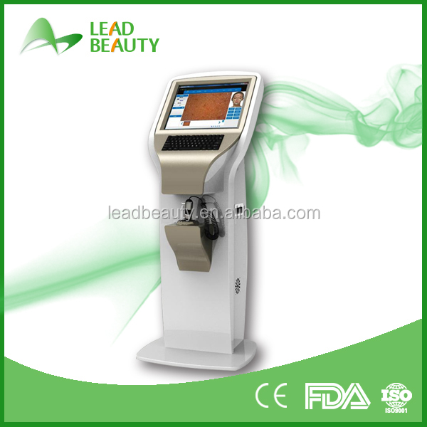 Hot Christmas Promotion Updated New Style Body Health Skin Analyzer face skin scanner
