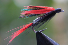 Classic Red Winged Wet Flies Fly Fishing Lures