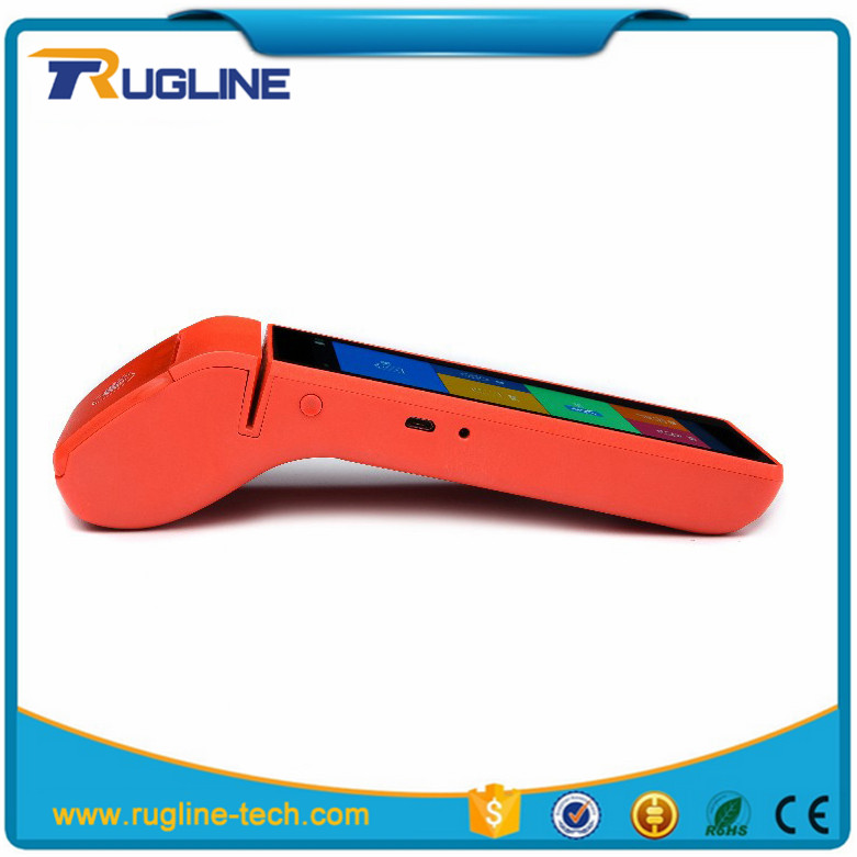 Professional offline pos machine payment card terminal with printer