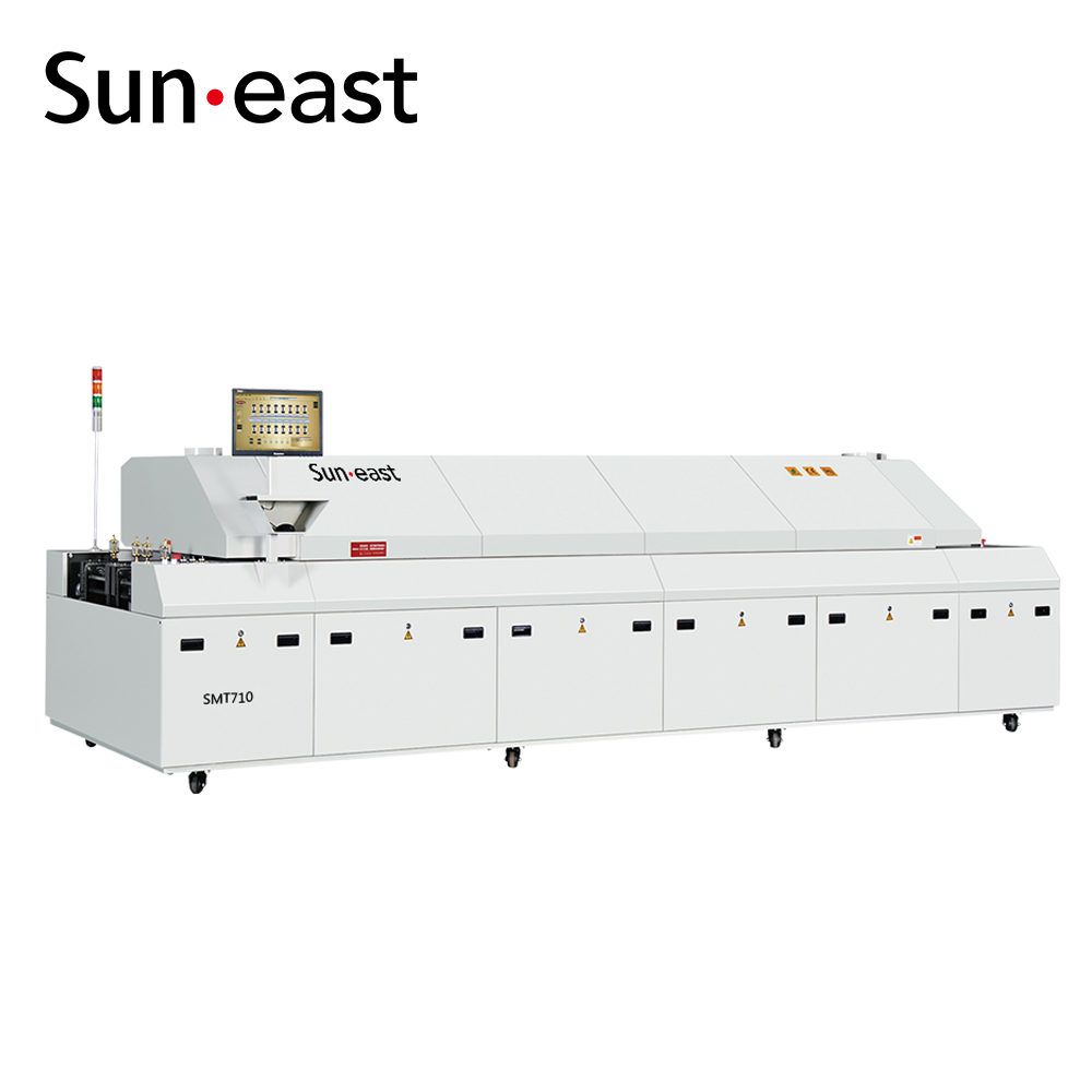 Hot air Reflow Oven Automatic PCBA Soldering Machine
