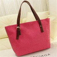 2014 Alibaba China Good Quality Cheap Stock Hand Bag for Woman, Fashion and Cheap HandBags Wholesale