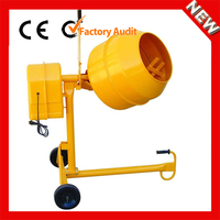 Widely used small 100L volume of mini UT35 portable concrete mixer for sale in dubai